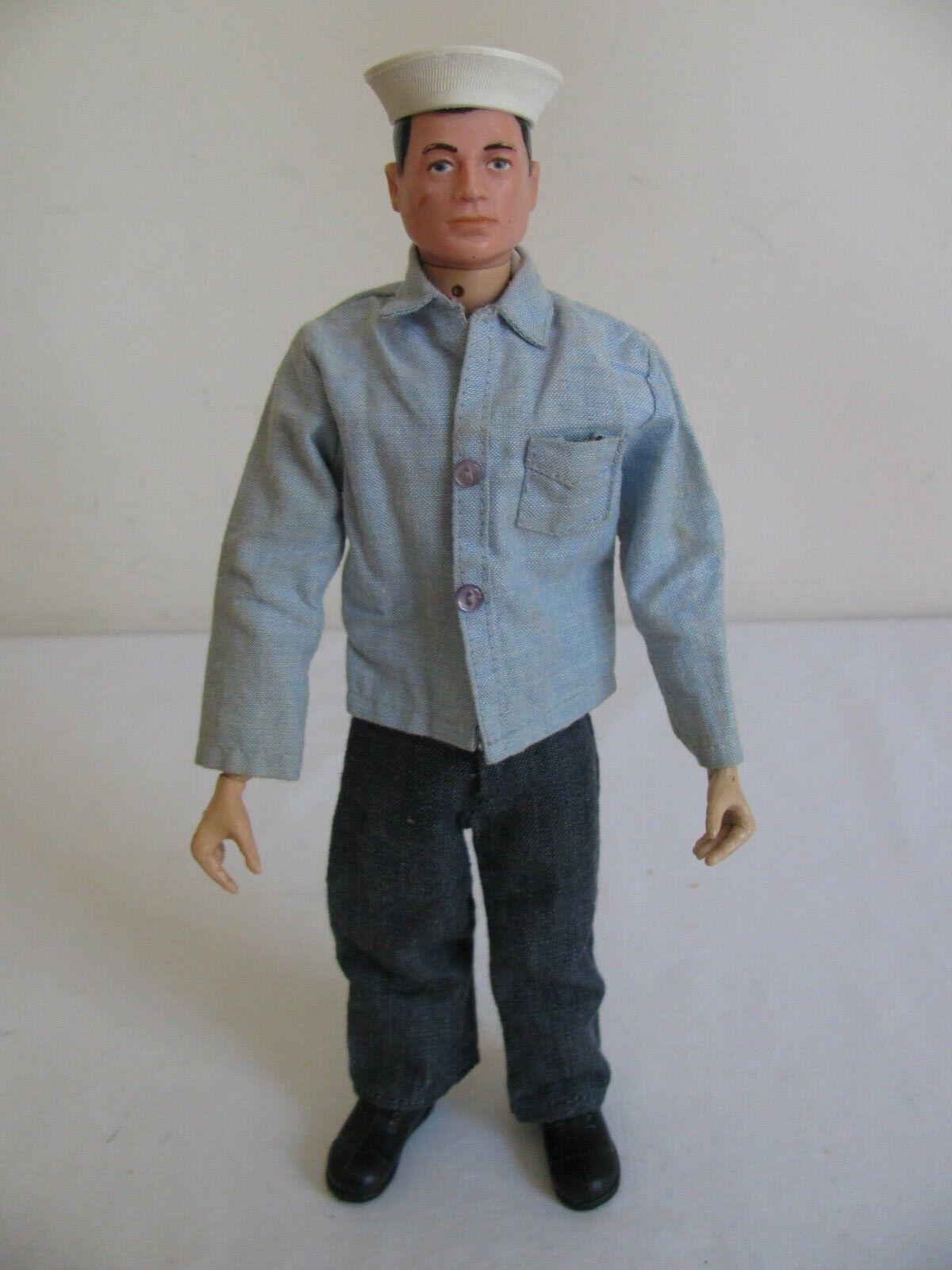 A la venta con descuento del 70%. Vintage Marinero de de de acción de Hasbro Gi Joe con uniforme ex  mejor precio