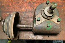 Marvel Armstrong Blum Famco Horizontal Band Saw Gear Box Amp Step Pulley Assembly