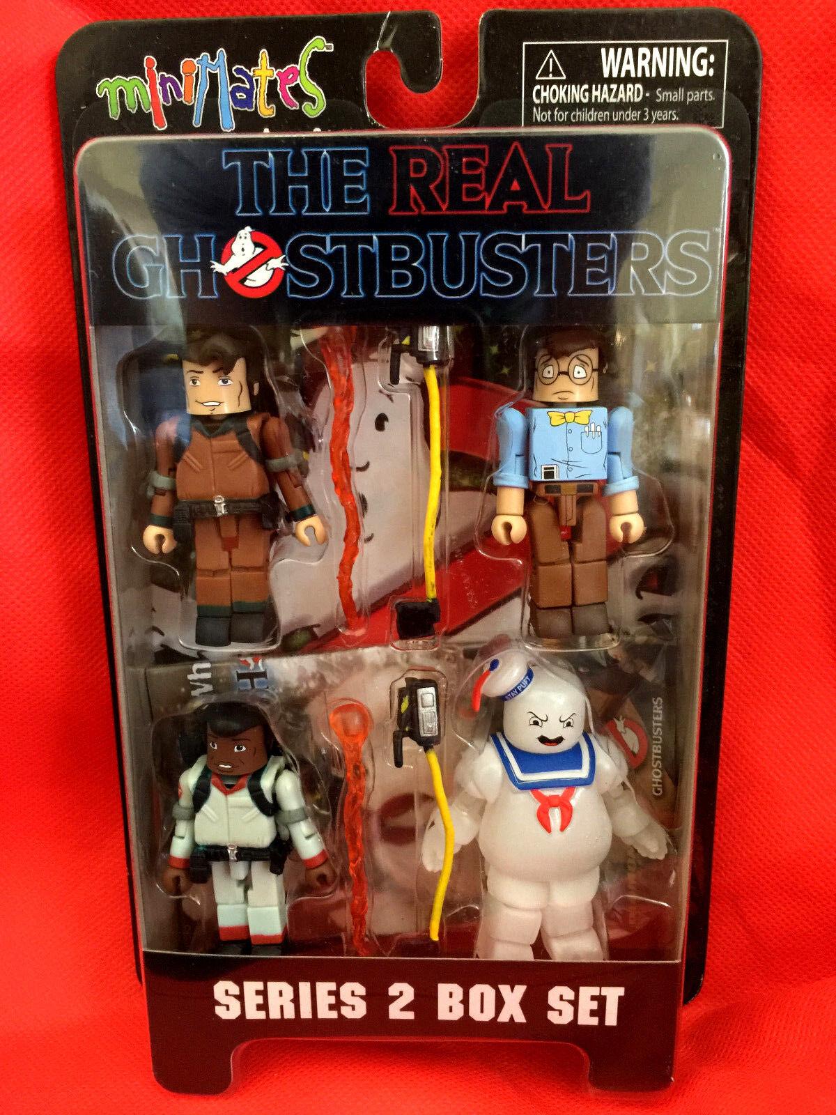 Real ghostbusters - serie   2 minimates peter louis tully winston allseits beliebte versiegelt