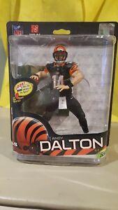 Mcfarlane Nfl Série 32 Andy Dalton # 4 Figurine Sportive Bengals de Cincinatti