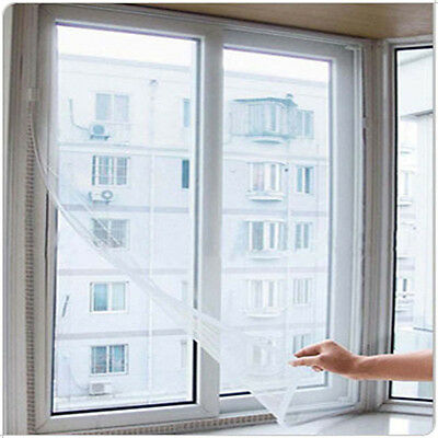 Insect Bug Mosquito Window Door Net Mesh Screen Sticky Tape New