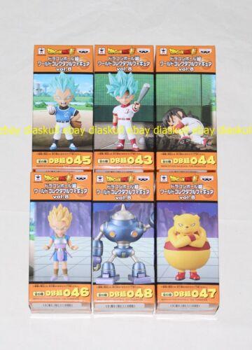 Banpresto Dragon Ball World Collectable Figure Vol.8 Son Goku Vegeta Yamcha WCF