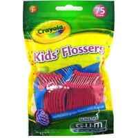 Gum Crayola™ Kids' Flossers 75 Ea (pack Of 5) on sale