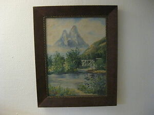 Picture-Oil-Painting-Painting-Oil-Painting-Signaldalen-Otertind-Norway-W