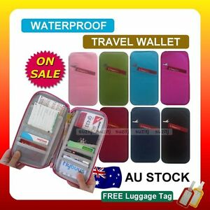 TRAVEL-WALLET-PASSPORT-HOLDER-DOCUMENT-Organier-Bag-Credit-Card-Case-New