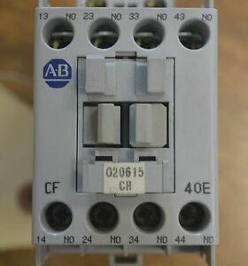 Lot of 6 - Allen Bradley Contactor Relay 700-CF400D* Series A