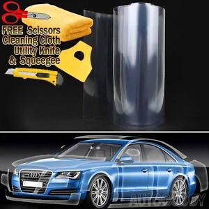 Clear Bra Paint Protection Vinyl Film Wrap Transparent Car Paint Scratch Shield