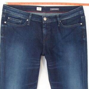 9609abf6 Image is loading Ladies-Womens-Tommy-Hilfiger-ROME-Stretch-Straight-Blue-