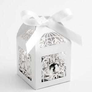 Luxus Filigranarbeit Weiss Vogelkafig Perlglanz Hochzeitsgeschenk Ebay