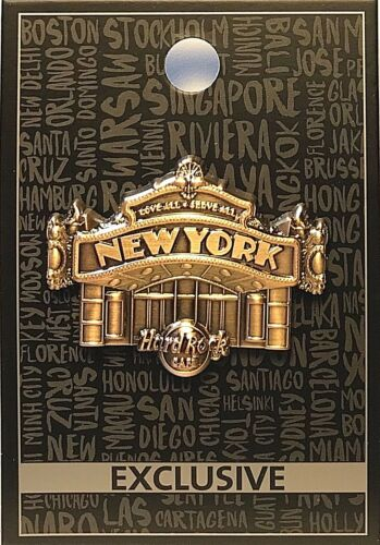 Hard Rock Cafe New York 3D Core Facade 2017 Pin New LE # 94943 NYC