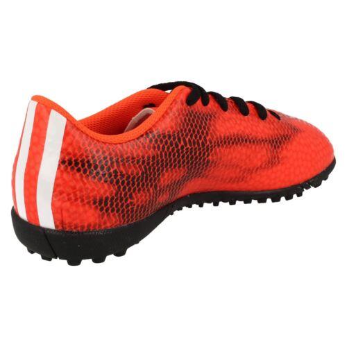 De J F5 Astro Garçons Lacets Tf Adidas Rouge Chaussures Turf noir À Football vRxwHdqcEw