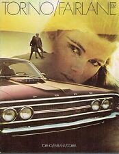 Ford Torino & Fairlane 1969 Canadian Market Sales Brochure GT Cobra 500