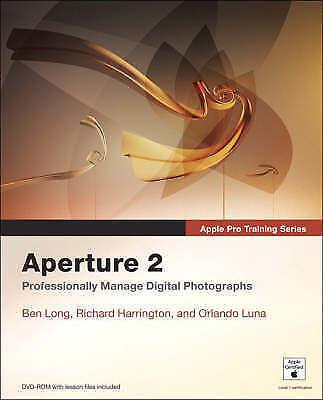 1 of 1 - Apple Pro Training Series: Aperture 2: Professionaly Manage Digital...