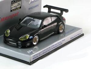 Porsche 911 996 Gt3 Rs Street Salon Noir Maquette 2005 Minichamps 1/43 Schwarz