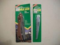 COGHLAN'S Camping Hiking Folding Wood Cutting SIERRA SAW w/Extra Blade! 8400