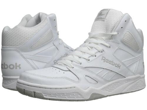 Hommes Reebok Royal BB4500 Hi Baskets Chaussures M42661 acier blanche 100/% Authentique Neuf