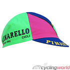 PINARELLO FLURO RETRO CYCLING CAP - Neon Yellow Pink Green Purple Road Bike