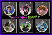 Hotel Transylvania 2 Movie Birthday Party Favor Pack Of 6 Bottle Cap Necklaces