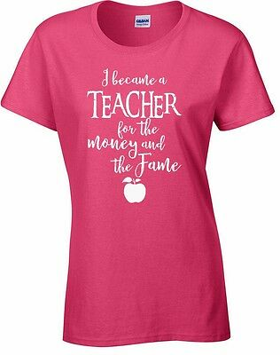 Teacher Mens Funny T-Shirt School Leaving Gift I Don/'t Mean To Be Awesome