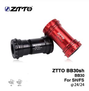 ZTTO BB30sh Bottom Brackets BB30 24mm Adapter bicycle Press Fit Axle bike parts