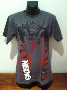 SAOSIN-Cobra-Logo-Grey-T-SHIRT-NEW-OFFICIAL-MERCHANDISE-SIZE-EXTRA-SMALL-Rare