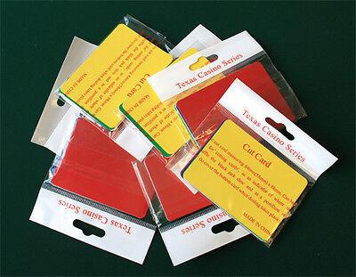 50pcs Bridge Size Cut Cards Fit NARROW Playing Cards 5 colors