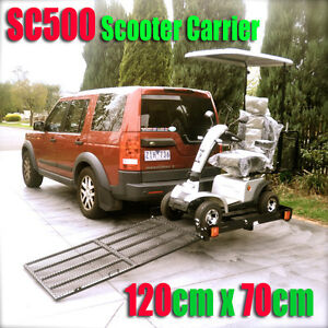 SC500-Tow-Bar-Mobility-Scooter-Power-Wheelchair-Carrier-Rack-With-Loading-Ramp