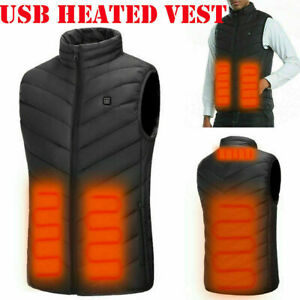 Electric-USB-Heated-Vest-Jacket-Warm-Up-Heating-Pad-Cloth-Body-Warmer-Men-Women