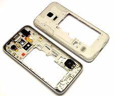 Samsung Galaxy s5 mini g800 marco intermedio cover middleframe carcasa housing Silve