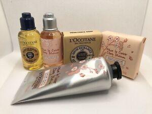 L-occitane-Cherry-Blossom-HandCream-75ML-Shower-Gel-Oil-2x35ML-Soap-2x50G
