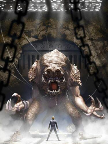 "Star Wars art poster print /""Rancor/'s Wrath/"" by Jeremy Saliba"