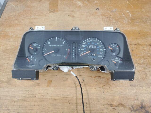 94-97 Dodge RAM 1500 Speedometer Instrument Cluster 149k ...