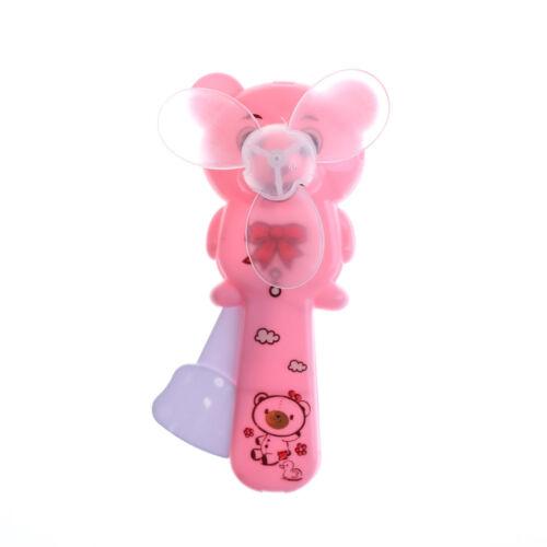1x cute portable mini ours ventilateur de presse à main fan de refroidissem LC