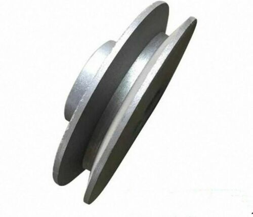 "SN-A OD 40 to 100mm V-Groove Pulley for 3//8/"" = 9.525mm Belt width Select Size"