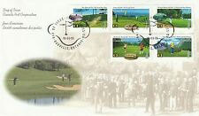 1995 Canada Golf Stamps Unaddressed Cover Special PMK Ref: MT73