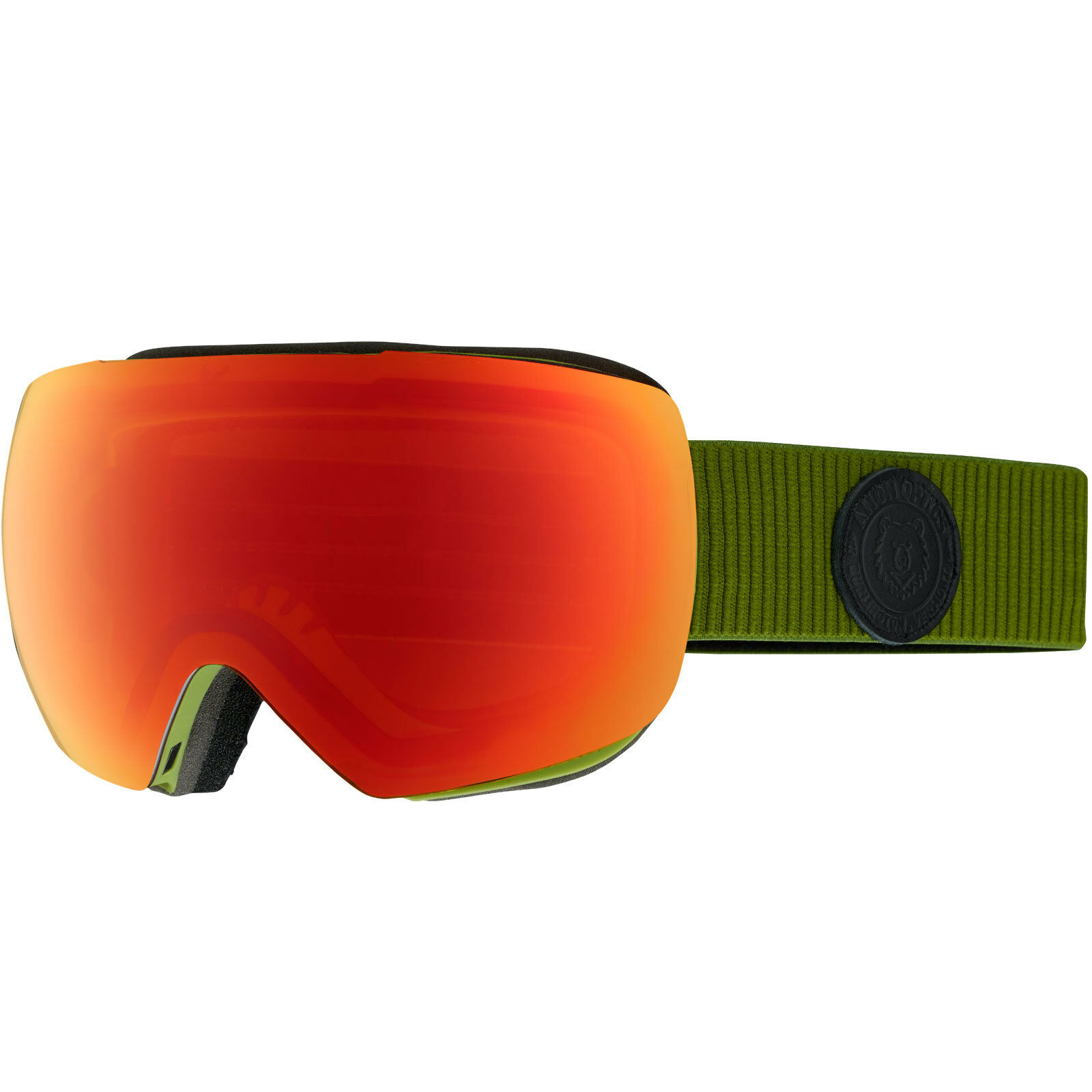 Anon MIG MFI Goggle + Skimaske Herren-Snowboardbrille Skibrille Schneebrille Schneebrille Schneebrille NEU 419fa9
