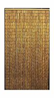 Master Garden Products Natural Beaded Bamboo Curtain 36 By 78-i... Free Shipping