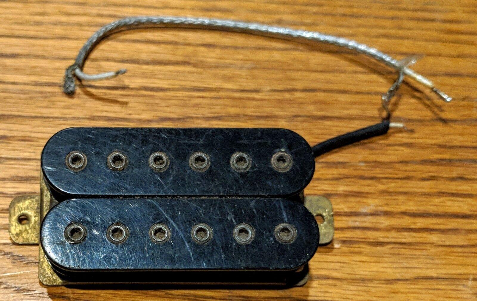 Vintage Vintage Vintage Dimarzio Super Distortion Electric Guitar Pickup Paf 8fc594