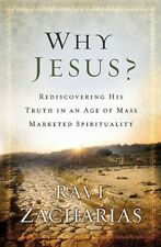 NEW Why Jesus? by Ravi Zacharias BOOK (Paperback) Free P&H
