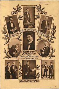 1918-Stempel-Frankenberg-auf-AK-Walter-Bernhardy-s-Konzert-Attraktion-Orchester