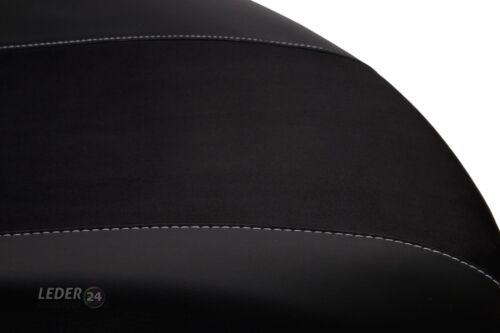 BMW 3 E-90 YR 04-11 Measure Seat Covers Artificial Leather Black
