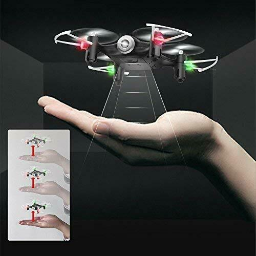 Latest Mini RC Drone Quadcopter with FPV Wide-angle Camera Toy Gift Stunt Copter