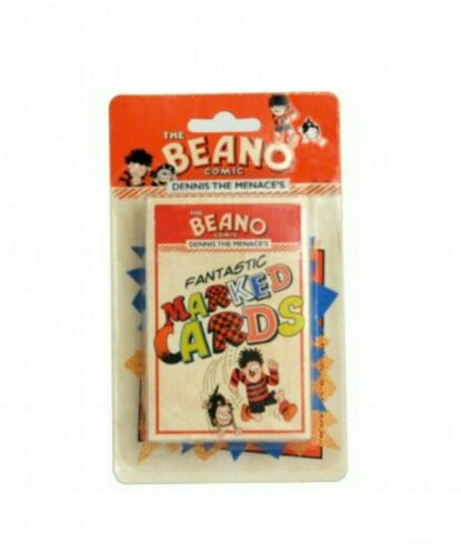 The Beano Comic Fantastic Marked Cards