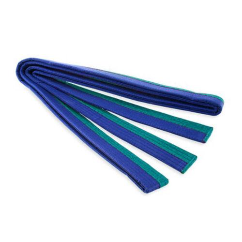9 Colors Professional Taekwondo Belt Karate Double Wrap Cotton Belt Martial Arts