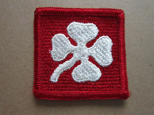 4th-Army-US-Army-Woven-Cloth-Patch-Badge