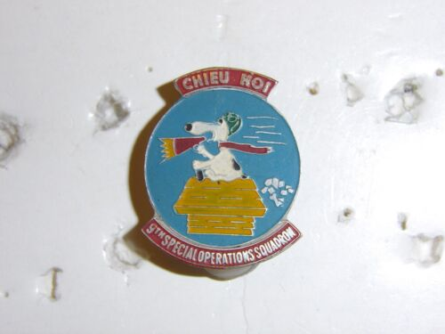 0345 US Vietnam 9th SOS Special Operations Squadron Beer can DI IR4A91
