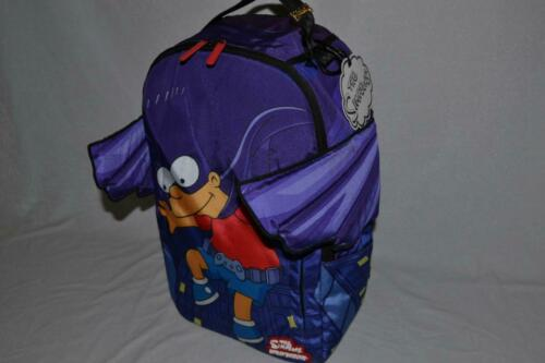 Authentic Teenage Sprayground Bartman ailes Sac à dos cartable NEUF