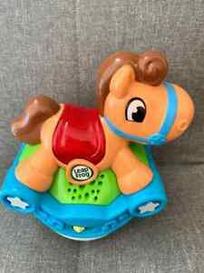 Kid Pre School Toy LeapFrog Roll and Go Rocking Horse Nice Color