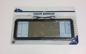 Deluxe Lighted Vanity Mirror Clip To Sun Visor : NEW BLACK CLIP ON SUN VISOR VANITY MIRROR FOR CAR TRUCK AUTOMOBILES RV JH-1040 eBay
