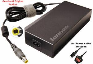Genuine-Lenovo-Thinkpad-170W-AC-Adattatore-con-Powercord-W520-W530-45N0353-45N0354